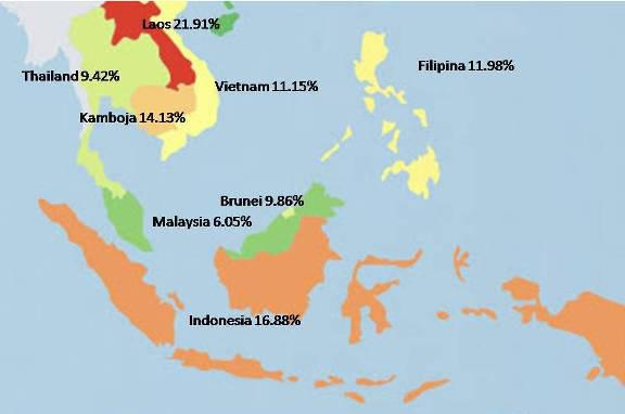 Prevalence Map Indonesia May 2013